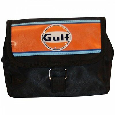 Continental Racing Gulf Collection Cosmetic Bag Orange Stripe