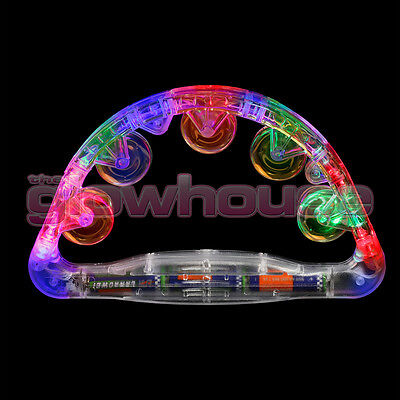 Sensory Led Light Up Flashing Tambourine Shaking Sensory Toy