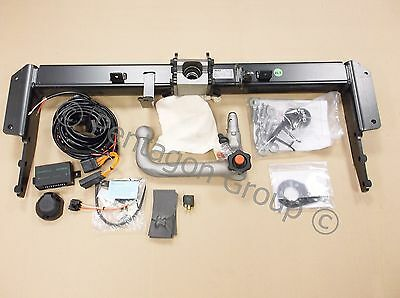 New Genuine Jeep Grand Cherokee Detachable Towbar Hitch With 13 Pin Electrics