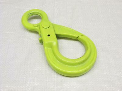 16MM Grade 100 Eye Type Autolock Hook - 10 Ton Chain Sling