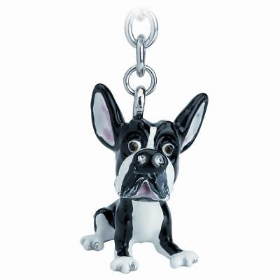 Little Paws 3726-LPKR-BT Key Ring Boston Terrier Dog