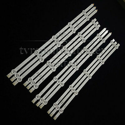 600mm 32'' Universal LED Backlight Strips with Optical Lens for TV Repair 10pcs