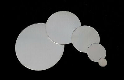 925 Sterling Silver Round Stamping Blank Disc 22 Gauge 6.4-50.8mm