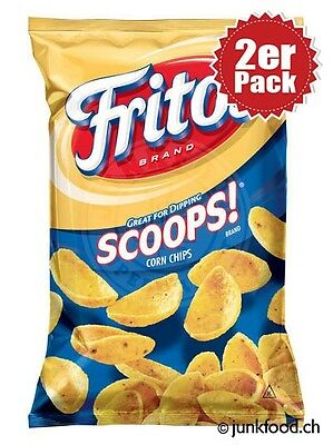 2er Pack Fritos Scoops! Corn Chips (2x248g)