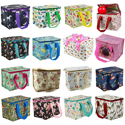 Kids Adult Lunch School Bag Insulated Picnic Floral Cool Recyled Bags