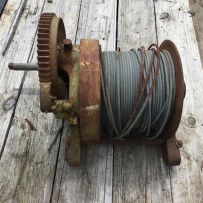 Beebe / Ingersoll Rand 5 Ton Hand Winch, Used