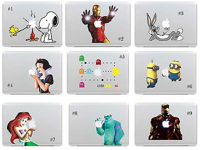 "Colorful Apple Macbook Sticker Macbook Air 13"" 15'' Pro Decal Skin Cover laptop"
