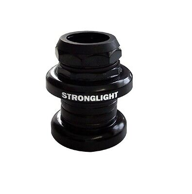 """STRONGLIGHT A9 STEEL 1"""" inch THREADED HEADSET   BLACK"""
