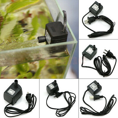 5 Modes Of Submersible Pump Air Water Fountain Hydroponic For Fish Tank Aquarium
