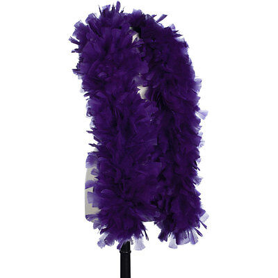 Regal Purple 150 Gram Turkey Feather Boas - Turkey Ruff - Halloween Costumes
