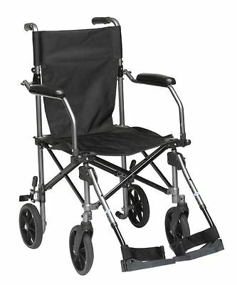 NEW Lightweight Travelite Portable Transit Travel Wheelchair with FREE Carry Bag