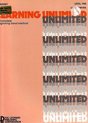 Learning Unlimited Class Series, Clarinet, Level 1. New Edition, New Music Book.