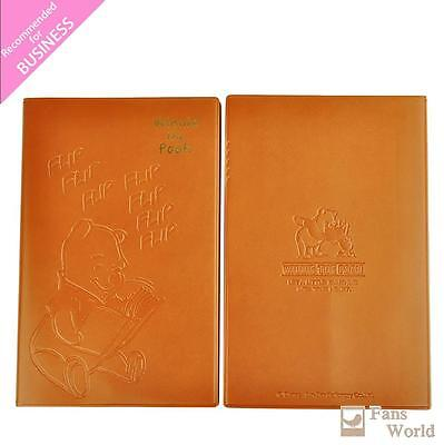 2017 Disney Winnie the Pooh Schedule Book Weekly Planner A5 Leather Embossing