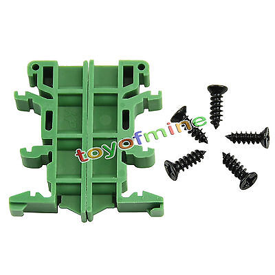 Simple PCB Circuit Board Mounting Bracket For Mounting DIN Rail Mounting