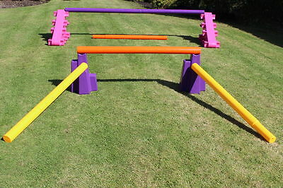 show jumping set, horse jumps, sloping blocks, practise wings, starter set