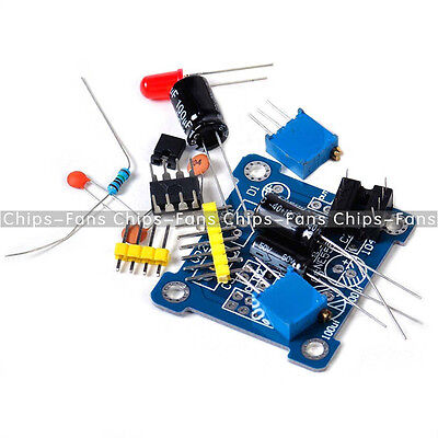 NE555 Duty Cycle and Frequency Adjustable Module DIY Kit Pulse Generator CF