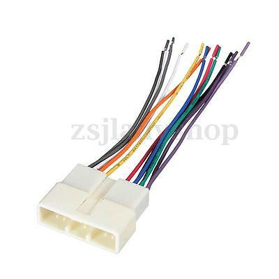 toyota amp car stereo cd player wiring harness radio install for auto car stereo cd radio player wire harness adapter plug for acura honda isuzu