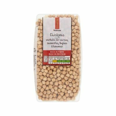 Chickpeas Waitrose Love Life 500g