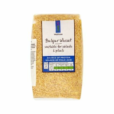 Bulgar Wheat Waitrose Love Life 500g