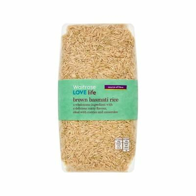Brown Basmati Rice Waitrose Love Life 1kg