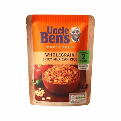 Uncle Bens Micro Rice Wholegrain Spicy Mexican 250g