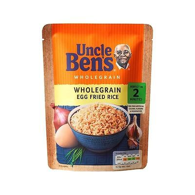 Uncle Bens Microwave Rice Wholegrain Egg Fried 250g