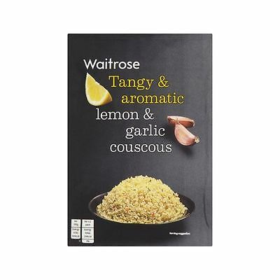 Lemon & Garlic Couscous Waitrose 100g