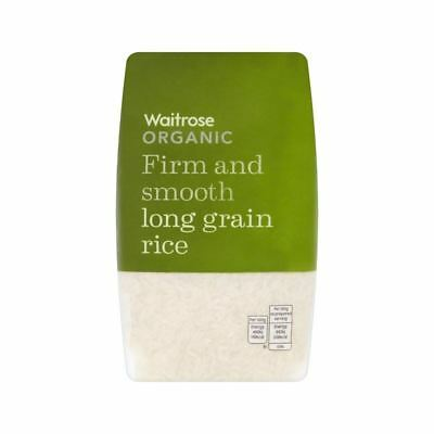 Organic Rice Long Grain Waitrose 500g