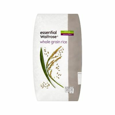 Rice Whole Grain essential Waitrose 1kg