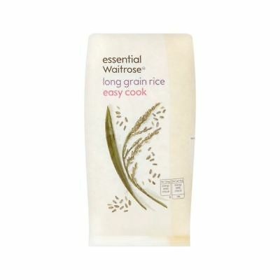 Long Grain Easy Cook Rice essential Waitrose 500g