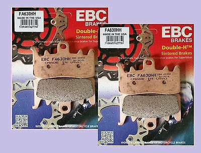 2x Sets EBC FA630HH Sintered Front Brake pads for BMW  R1200 R1200RT 2014-15