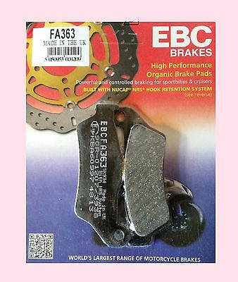 EBC  FA363 Rear Brake Pads for BMW R Nine T                2014 to 2015