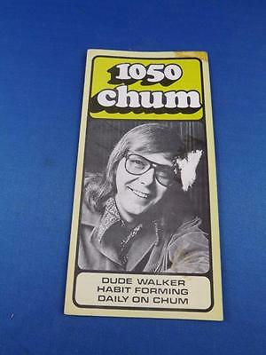 1050 Chum Radio Station Toronto Top 30 Songs May 1974 Dude Walker Habit Forming