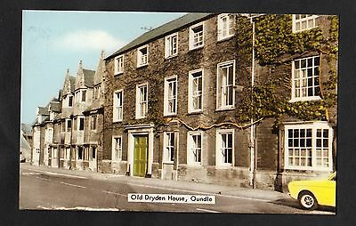 Posted 1985 View of Old Dryden House, Oundle