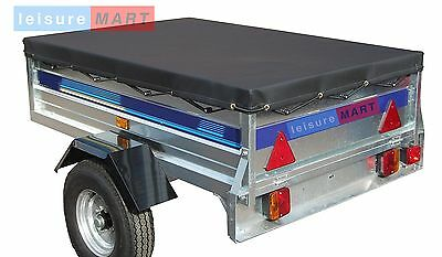 5x4 Heavy duty waterproof 5 ft x 4 ft trailer cover