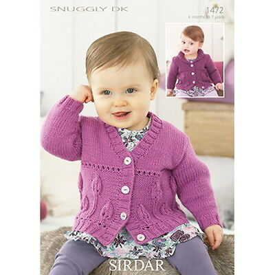 Sirdar Baby Knitting Pattern - Poncho and Beret - 1516 - Snuggly DK   ?3.39 -...