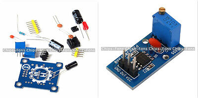 NE555 Adjustable and Frequency Adjustable Module DIY Kit /Pulse Generator Module