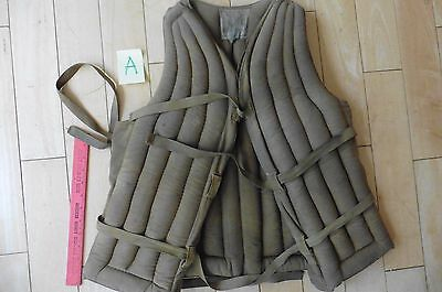 Vintage WWII Life Jacket vest preserver Sears Roebuck & Co Chicago Ill canvas