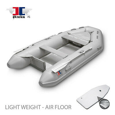 9.5 ft Inflatable Boat - Air Floor -Yacht, Dingy, Sailing - Tender INMAR