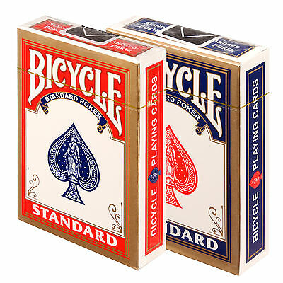 New Sealed Deck of Bicycle Standard Face Poker Playing Cards Color Random