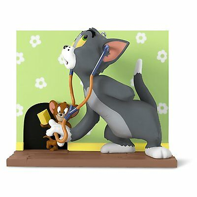 Mouse Trouble 2016 Hallmark Keepsake Ornament  Tom And Jerry  Kids Cartoon  Cat