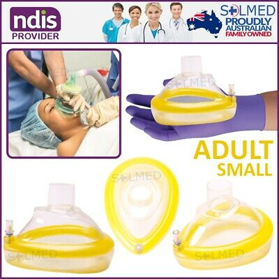 Airway Resus Anaesthetic Mask Soft Cushion Size 4 Teen Small Adult