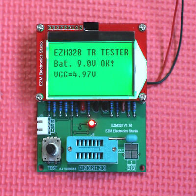GM328R Transistor Tester / ESR Meter / Frequency Counter / Signal Generator