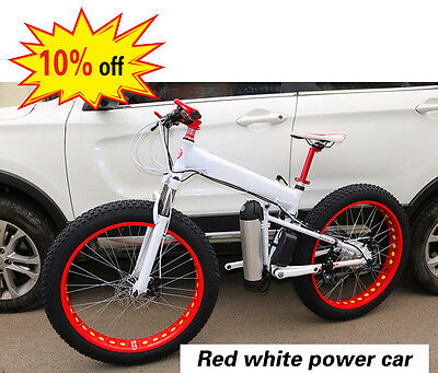 21 Speed Fat Mountain bike,Aluminum Alloy Foldable Bike,snow bicycle,10% off