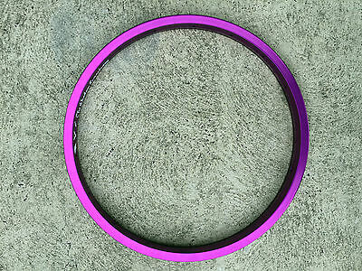 Brand New The Shadow Conspiracy Stun Bmx Bike Rim - Purple