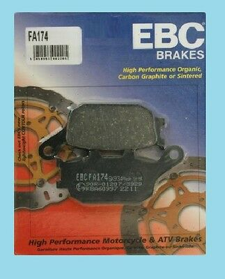 EBC FA174 Rear Brake pads for Honda CBR CBR1000 RR4/RR5 Fireblade 2004 & 2005