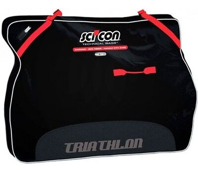 Borsa Porta Bici Portabici SCICON TRAVEL PLUS TRIATHLON IMBOTTITA/BIKE BAG SCICO