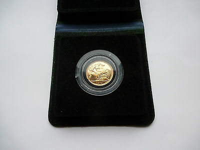 Gold Proof 1979 Sovereign Boxed