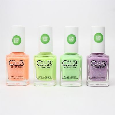 COLOR CLUB NAIL Polish Glow in the Dark Collection Choose Your Shade ...