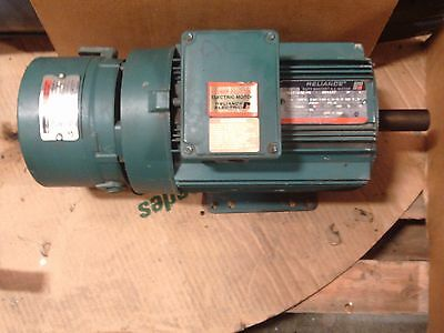 Reliance Duty Master AC Motor P18A1701M-PS, 3 Phase, 3 HP, RPM 1725